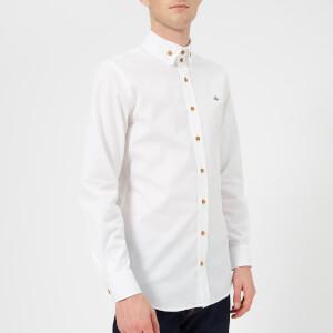 Vivienne Westwood Men's 2 Button Poplin Krall Shirt - White