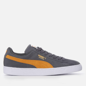 Puma Men's Suede Classic Trainers - Iron Gate/Buckthorn Brown/Puma White