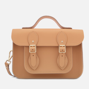 The Cambridge Satchel Company Women's 11 Inch Magnetic Batchel - Honey Matte