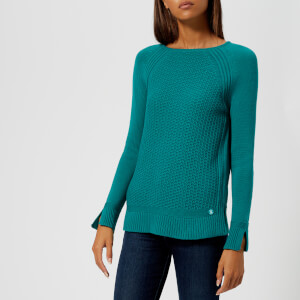 Barbour Women's Bridport Knitted Jumper - Seaglass