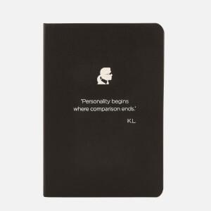 Karl Lagerfeld Kalism Notebook - Black (Free Gift)