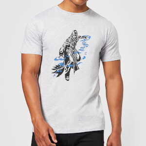 Magic The Gathering Jace Character Art T-Shirt - Grey