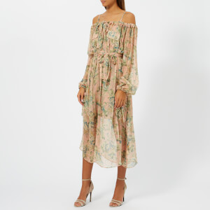 Zimmermann Women's Tempest Gathers Dress - Rouge Desert Rose
