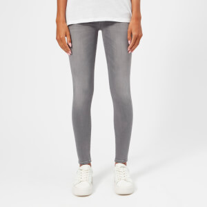 7 For All Mankind Women's The Skinny Crop Jeans - Grey