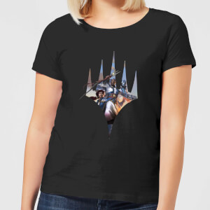 Magic The Gathering Key Art With Logo Women's T-Shirt - Black