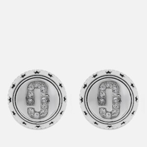Marc Jacobs Women's Medallion Studs - Silver