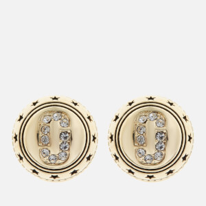 Marc Jacobs Women's Medallion Studs - Gold