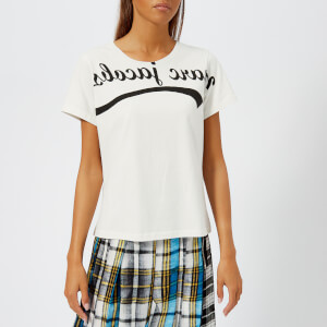 Marc Jacobs Women's Reverse MJ T-Shirt - Ivory/Black
