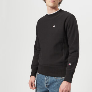Champion Men's Crew Neck Sweatshirt - Black