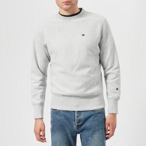 Champion Men's Crew Neck Sweatshirt - Grey Marl