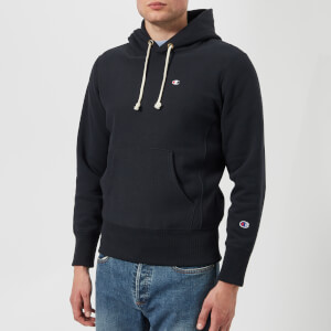 Champion Men's Hooded Sweatshirt - Navy