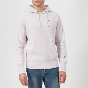 Champion Men's Hooded Sweatshirt - Lavender