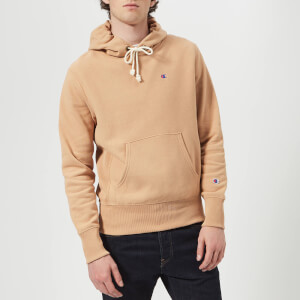 Champion Men's Hooded Sweatshirt - Camel