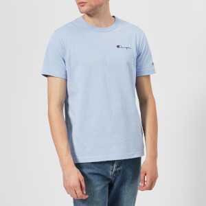 Champion Men's Short Sleeve T-Shirt - Light Blue