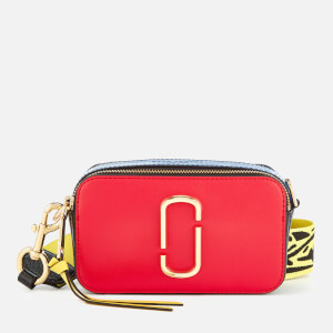 Marc Jacobs Women's Snapshot Cross Body Bag - Poppy Red