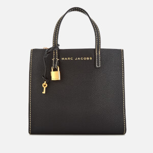Marc Jacobs Women's Mini Grind Tote Bag - Black/Gold