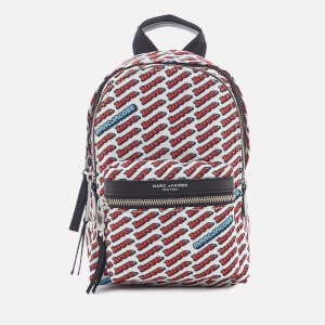 Marc Jacobs Women's Mini Backpack - Red Multi