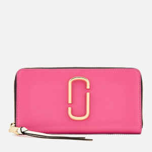 Marc Jacobs Women's Snapshot Continental Wallet - Vivid Pink