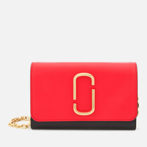 Marc Jacobs Women's Snapshot Wallet on Chain - Poppy Red