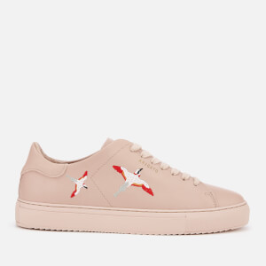 Axel Arigato Women's Clean 90 Bird Embroidery Leather Trainers - Pale Pink