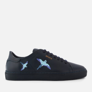 Axel Arigato Men's Clean 90 Bird Embroidery Leather Trainers - Black