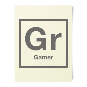Periodic Gamer Art Print