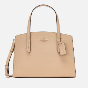 Coach Women's Polished Pebble Leather Charlie 28 Carryall - Beechwood