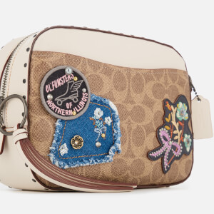 Coach Women's Patches and Border Rivets Camera Bag - Chalk: Image 4