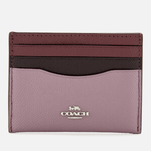 Coach Women's Colorblock Flat Card Case - Jasmine Multi