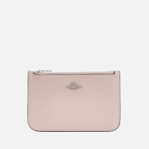 Coach Women's Zip Card Case - Ice Pink Multi
