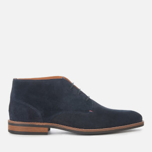 Tommy Hilfiger Men's Essential Suede Desert Boots - Midnight