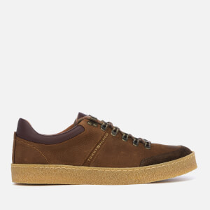 Tommy Hilfiger Men's Crepe Outsole Hiking Trainers - Coffee