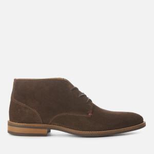 Tommy Hilfiger Men's Essential Suede Desert Boots - Coffeebean
