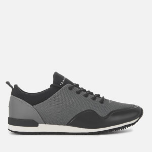 Tommy Hilfiger Men's Iconic Neoprene Sock Runner Style Trainers - Steel Grey