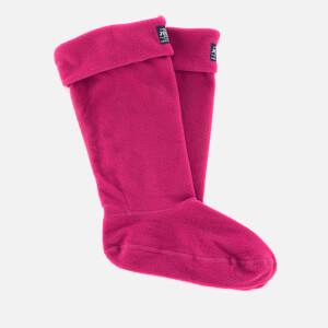 Joules Women's Welton Fleece Welly Socks - Ruby Pink