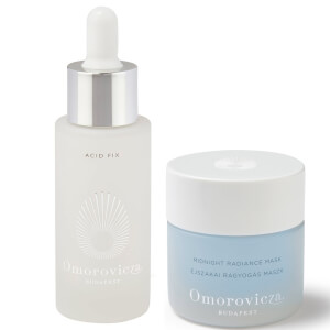 Omorovicza Acid Fix 30ml and Omorovicza Midnight Radiance Mask 50ml Evening Duo