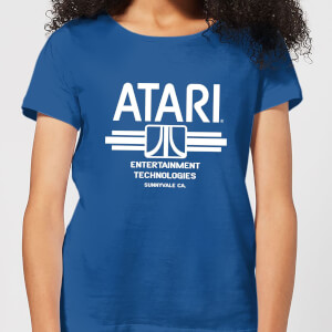 Camiseta Atari Entertainment Technologies - Mujer - Azul