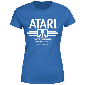 Atari Ent Tech Women's T-Shirt - Royal Blue