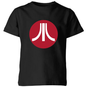 Atari Circle Logo Kinder T-shirt - Zwart