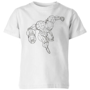 Nintendo Super Metroid Samus Kinder T-shirt - Wit