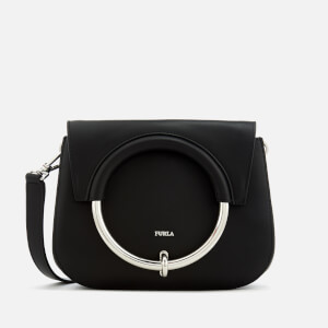 Furla Women's Margherita Mini Cross Body Bag - Black