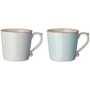 Denby Always Entertaining - Blues - 2 Piece Mug Set