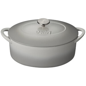 Denby Natural Canvas Cast Iron - 28cm Oval Casserole