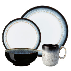 Denby Halo 16 Piece Tableware Set