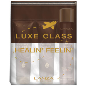 L'Anza Keratin Healing Oil Mini Gift Set with Free Travel Purse 50ml (Worth £27.00)