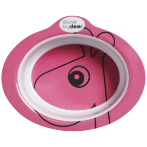 Done By Deer Anti-Slip Bowl Contour - Raspberry