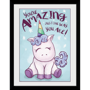 Unicorn Amazing 12 x 16 Inches Framed Photograph