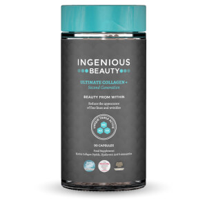 Complément alimentaire Ingenious Beauty - Ultimate Collagen + Second Generation (90 gélules)