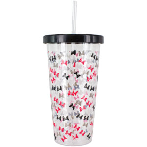 Minnie Mouse Cup and Straw