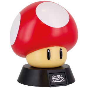 Super Mario Super Mushroom Icon Light